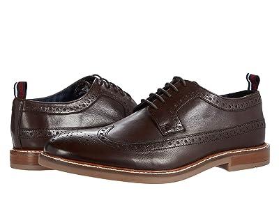 Ben Sherman Birk Long Wing Tip (Brown Leather) Men