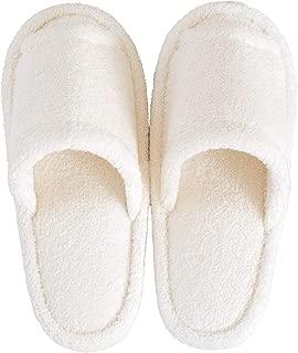 オカ スリッパ ホワイト 足のサイズ 約25cmまで PLYS Base(プリスベイス) ソフィ