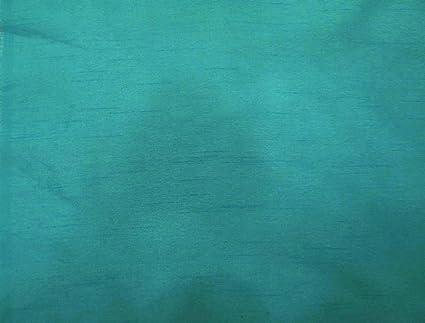 Aqua Blue Polyester Dupioni