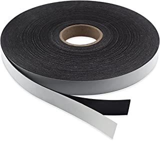 "Master Magnetics Flexible Magnet Strip with Adhesive Back, 1/16"" Thick, 1"" Wide, 50 Feet Score-Cut Every 3"" Length with 19..."
