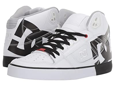 DC Pure High-Top WC (White/Black Stencil) Men