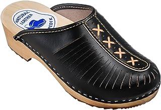 4ee47f256 Amazon.es: Negro - Zuecos / Zapatos para mujer: Zapatos y complementos