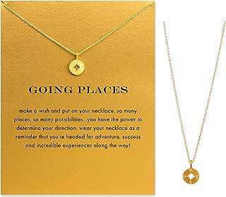 Best cheap compass necklace Reviews