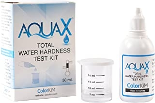 Total Water Hardness Test for Pool, Aquarium, and Drinking Water, and Improving Water Softener Efficiency