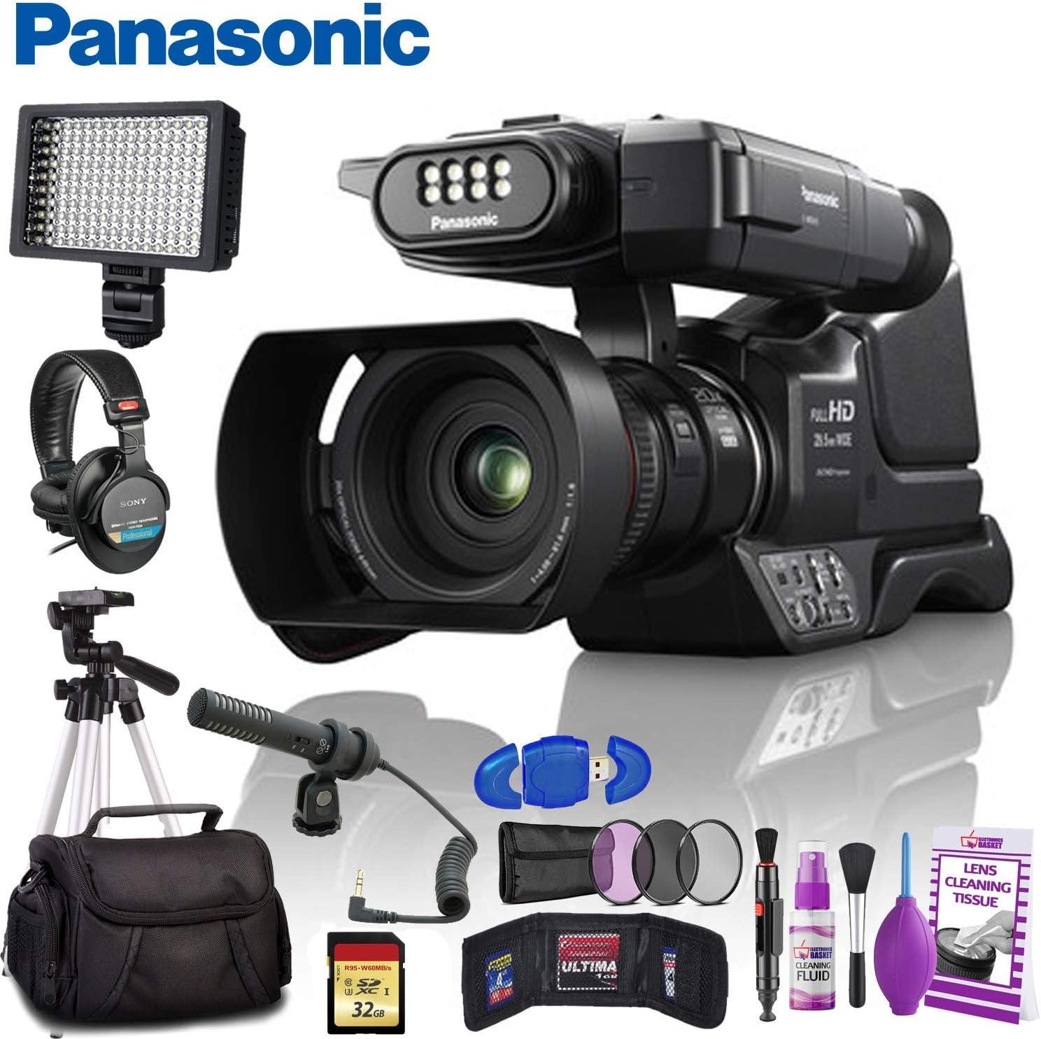 NEW before selling Panasonic HC-MDH3 AVCHD Shoulder Mount Kit Camcorder 1 year warranty - Platinum