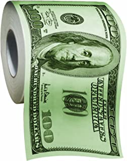 Hundred Dollar Bill Money Toilet Paper-Novelty Funny Toilet Paper