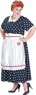 Plus Size I Love Lucy Polka Dot Dress Costume