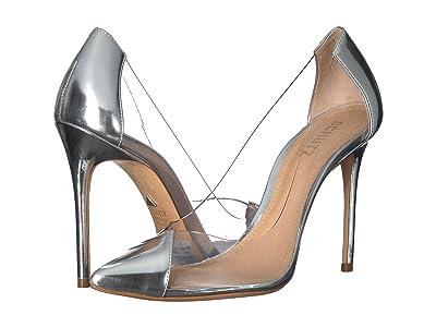 Schutz Cendi (Silver Spechio) High Heels
