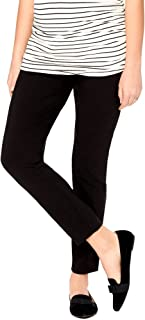 Motherhood Maternity Women's Maternity Super Stretch Secret Fit Belly Ankle Skinny Work Pant