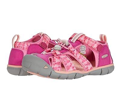 KEEN Kids Seacamp II CNX (Little Kid/Big Kid) (Very Berry/Pink Carnation) Girls Shoes