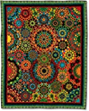 La Tarantella Quilt - Millefiori Quilts 3 by Willyne Hammerstein (Oversized 1/4