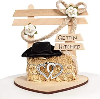 Best cowboy bride and groom cake topper Reviews