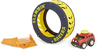 Little Tikes Slammin' Racers Turbo Tire Playset & Vehicle with Sounds