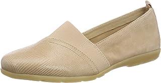 Zapatos Para esBeige Mocasines MujerY Amazon 0wOnPX8k