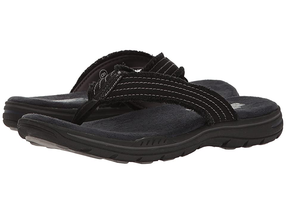 SKECHERS Relaxed Fit(r): Evented Arven (Black) Men