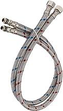 Conector de torneira de aço inoxidável trançado de 50 cm da Bathfinesse de 50 cm, mangueira de alimentação flexível, rosca...
