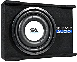 $138 » Sponsored Ad - Seismic Audio - SA-SSCS12 - Shallow Mount 12 Inch 600 Watt Car Truck Audio Subwoofer Enclosure for Tight Sp...