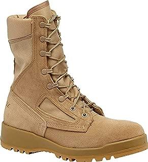 Tactical Bundle: Belleville Men's Hot Weather Combat Boot Tan 11.0 R & Cap