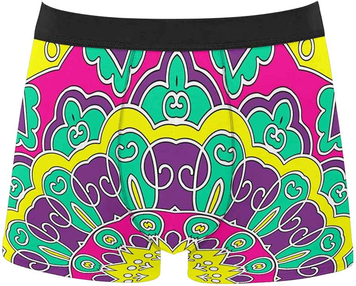InterestPrint All Over Print Classic Fit Boxer Briefs for Men, Youth Luxury Stylish