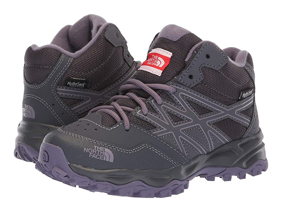 The North Face Kids Hedgehog Hiker Mid Waterproof (Little Kid/Big Kid) (Periscope Grey/Purple Sage) Girls Shoes