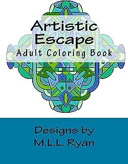 Artistic Escape: Adult Coloring Book