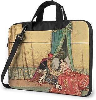 Laptop Bag xiaopangzi Fashion Trend Laptop Bag Black 15.6 Inch