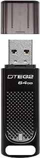 Kingston DataTraveler Elite G2 - Llave UBS (64 GB) Color Negro