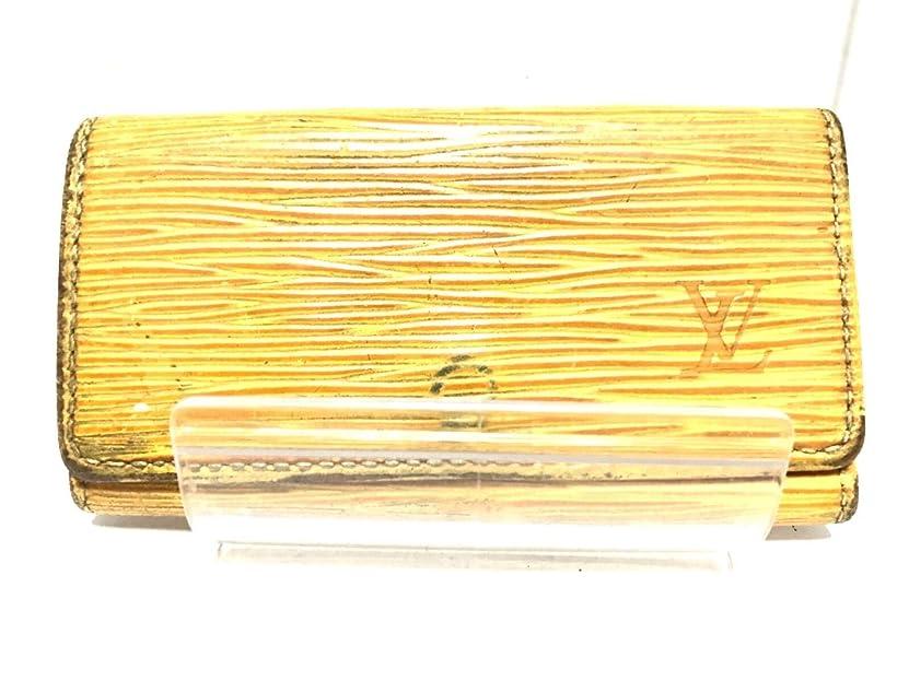 犯罪発音湿度(ルイヴィトン)LOUIS VUITTON キーケース ジョーヌ M63829 ミュルティクレ4 【中古】