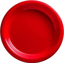 Party Pack Apple Plastic Plates