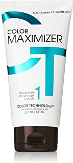California Tan Color Maximizer Primer Lotion, Cruelty Free, 6 Ounce