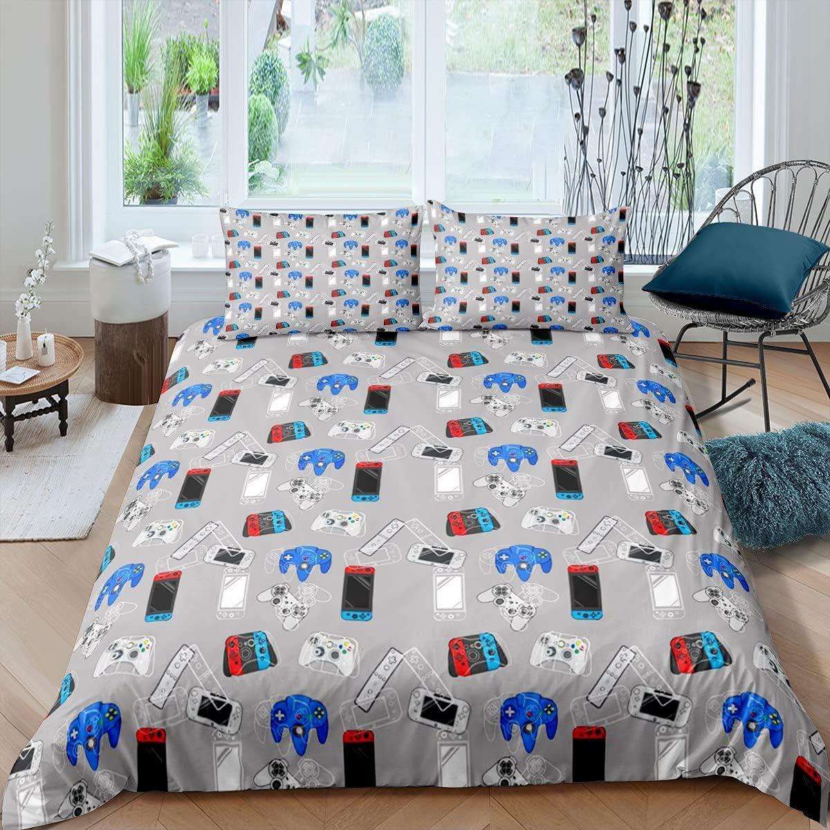 Erosebridal Direct stock discount Gaming Duvet Cover Set Gamer Kids Bedding for Boys Dallas Mall