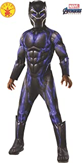 Avengers 4 Deluxe Black Panther Battle Costume & Mask