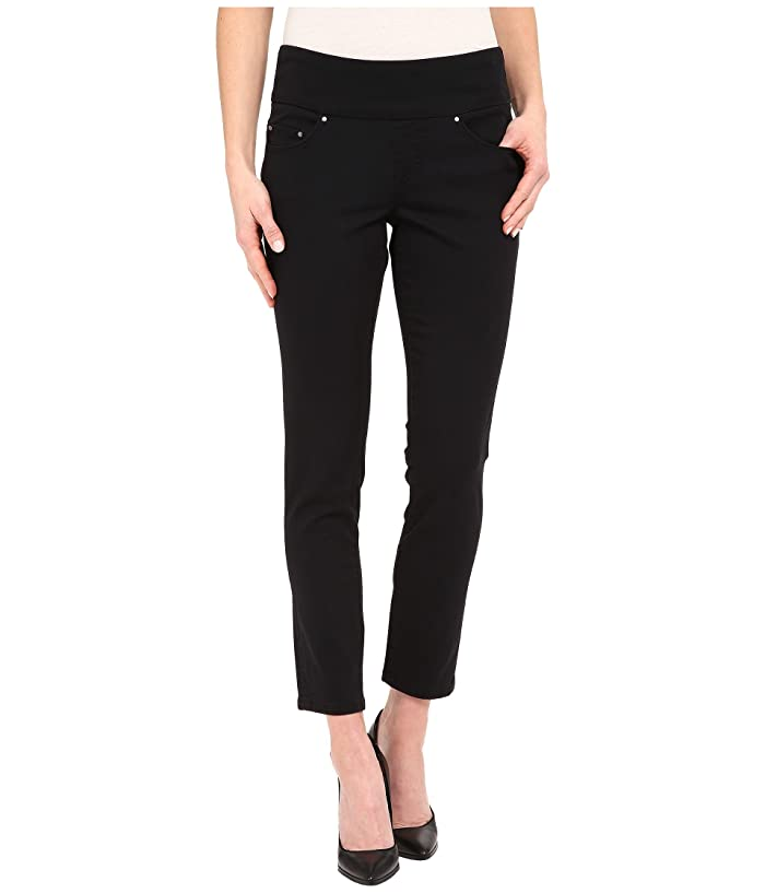 Jag Jeans Amelia Pull On Slim Ankle Pants In Bay Twill