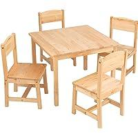 KidKraft Aspen Farmhouse Table & Chair Set (Oak)