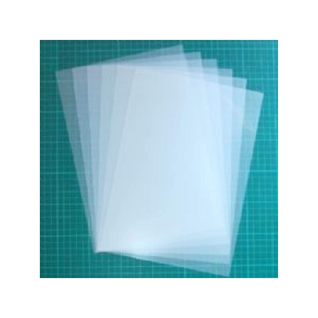 Stencil Material 4 mil Blank Mylar - 13 Sheets of Mylar for Reusable Stencils – Cut Your Own Stencils and Use on Walls, Floors, Fabrics, Glass, Wood and More...