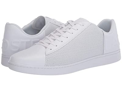 Lacoste Carnaby Evo 120 5 (White/White) Men