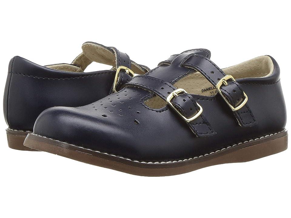 FootMates Danielle 3 (Infant/Toddler/Little Kid) (Navy) Girls Shoes