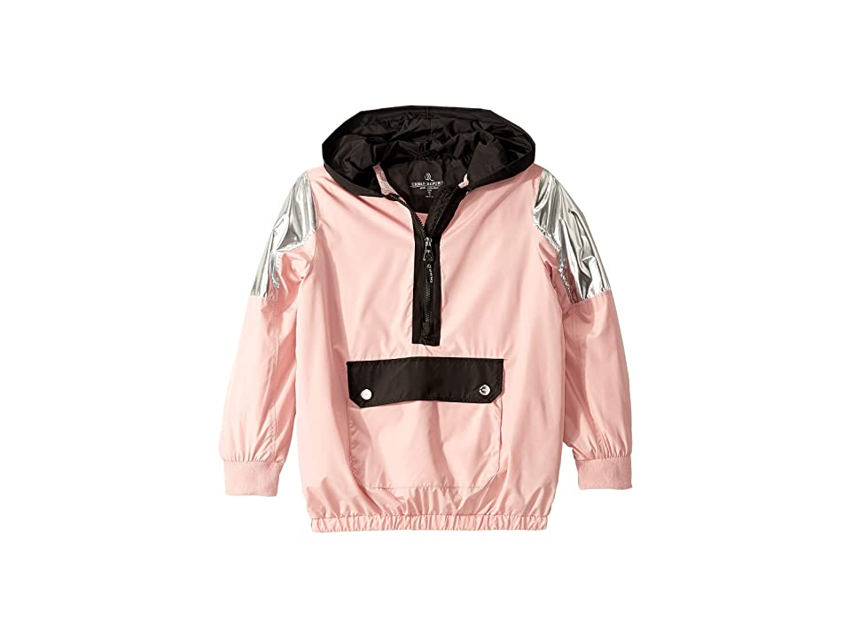 Urban Republic Kids Windbreaker Pullover (Little Kids/Big Kids) (Pink) Girl