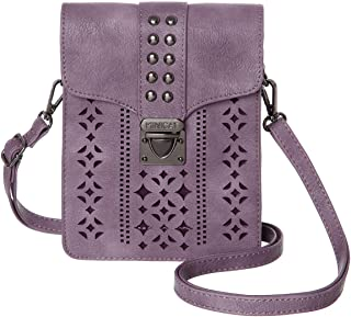 MINICAT Women Hollow Texture Series Small Crossbody Bags Cell Phone Purse Wallet For Women