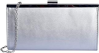 Lino Perro Silver Colored Clutch