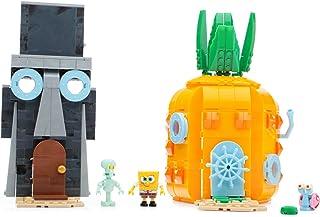 Mattel Mega Bloks CNF69 - Bob Esponja - Los vecinos Establecido, la construcción y Juguetes de construcción