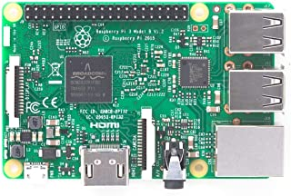 RASPBERRY PI 3 B - QC 1.2GHZ - 1GB RAM - VIDEOCORE IV 3D - BT 4.1-4*USB 2.0 - HDMI - WiFi - ETHERNET - MICROSD