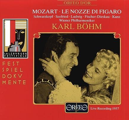 モーツァルト:歌劇「フィガロの結婚」 (3CD)  (Mozart, Wolfgang Amadeus: Le Nozze di Figaro)