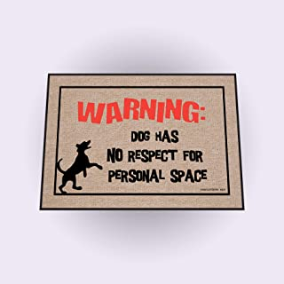 High Cotton Dog Personal Space Doormat