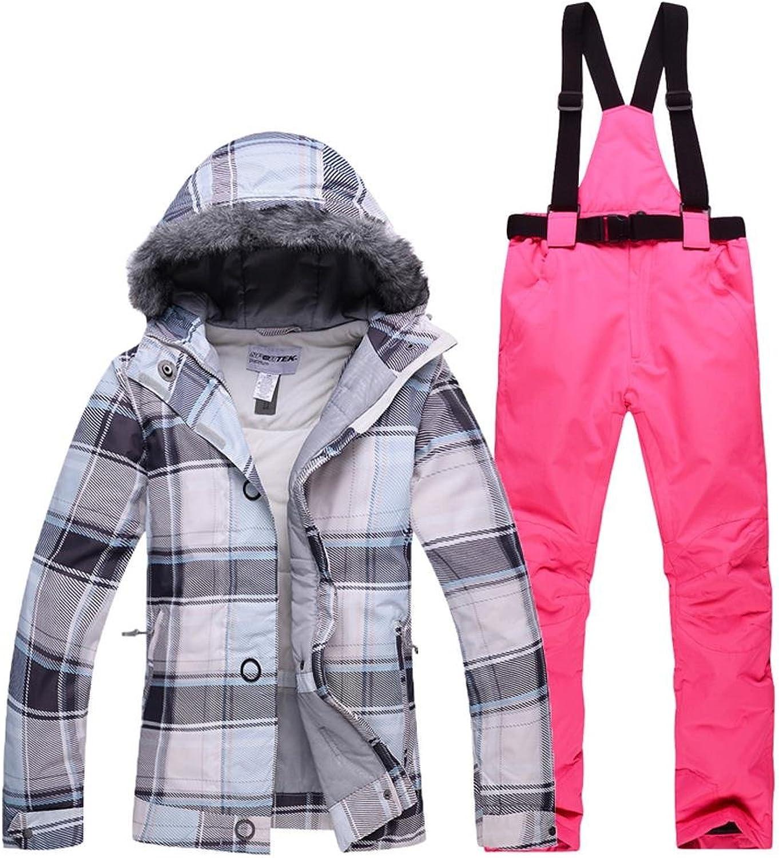 Womens Snow Skiing Jackets Waterproof Hooded Outdoor Winter Jackets