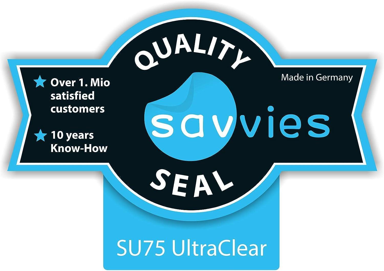 Savvies 6X Schutzfolie kompatibel mit Canon EOS 6D Mark II Displayschutz-Folie Ultra-transparent