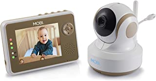 MobiCam DXR-M1 Baby Monitoring System with Smart Auto Tracking, Night Vision, Remote Pan & Tilt, Lullabies, Quad View, Bab...