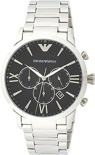 Emporio Armani Gents Wrist Watch, Silver