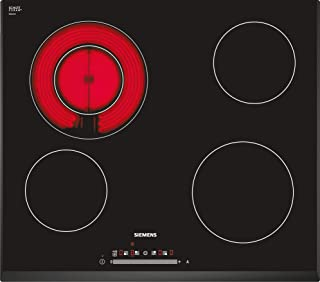Siemens 60 cm Built in Electric Hob, Made in Germany, 3 Years Warranty, Black, ET651NF17Q