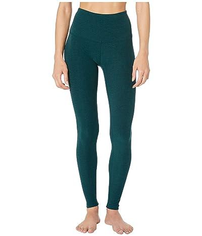 Beyond Yoga Spacedye Take Me Higher Long Leggings (Hunter Green/Nocturnal Navy) Women